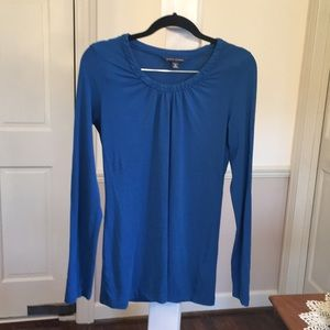 Banana Republic Blue Blouse Size Medium